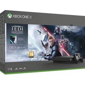 Konsola Xbox One X + Star Wars Jedi: Upadły Zakon