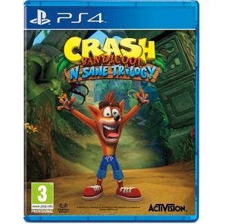 Gra Crash Bandicoot N. Sane Trilogy PS4