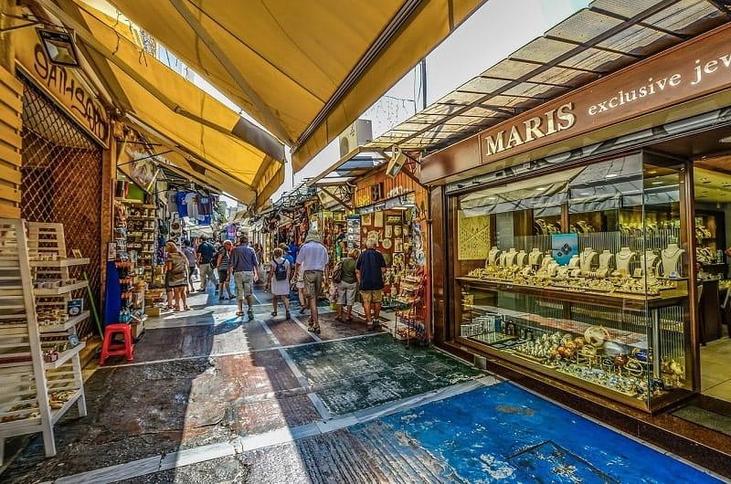 Podstawowe wydatki w Grecji