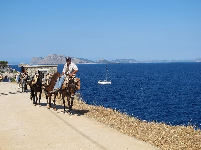 Koszt transportu w Grecji