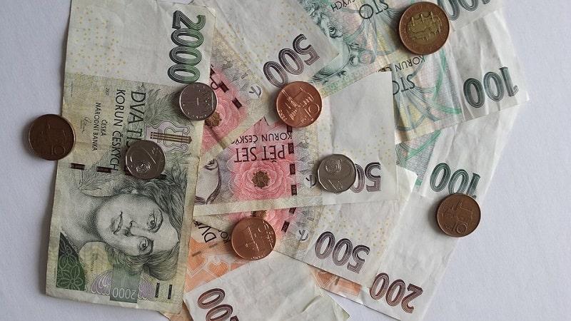 Waluta w Czechach