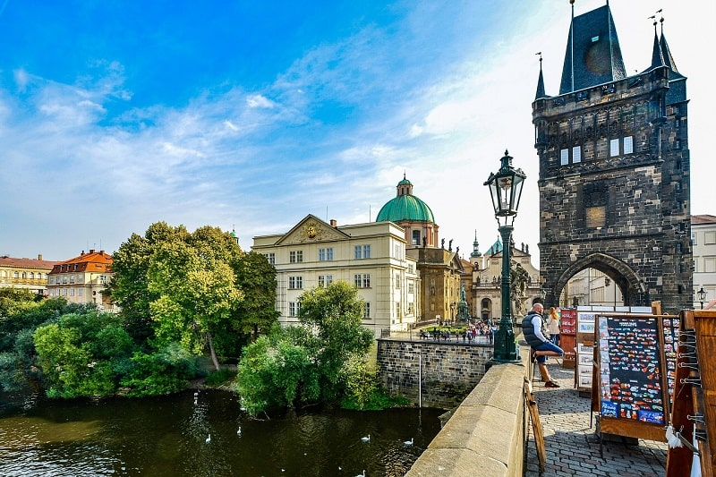 Koszt pamiątek w Czechach