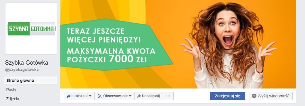 facebook szybka gotowka