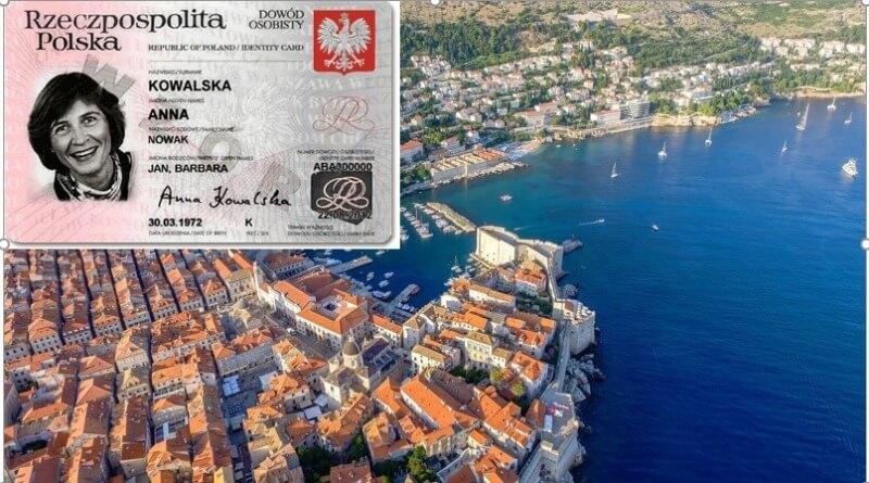 Niezbędne dokumenty w celu podróży z Polski do Chorwacji