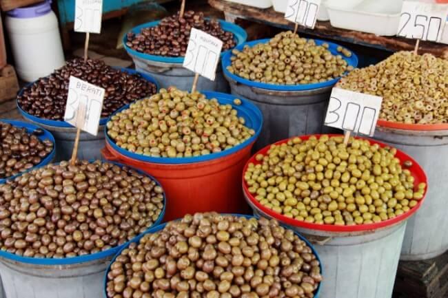 Albanski olivy