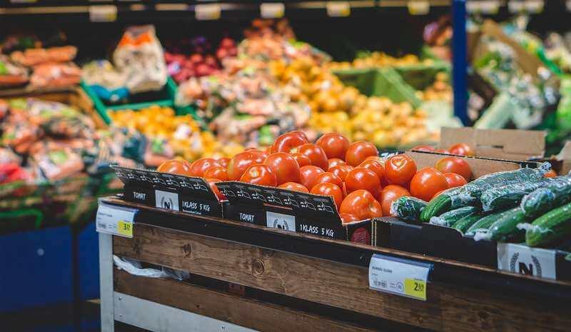 Tomaty w sklepach